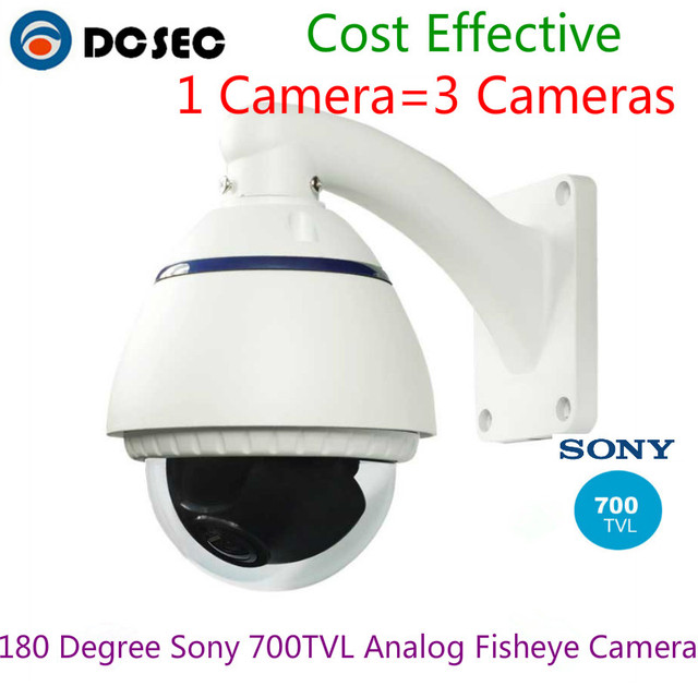 Top Selling Sony 700TVL 180 degree analog Wide Angle Outdoor Water ...