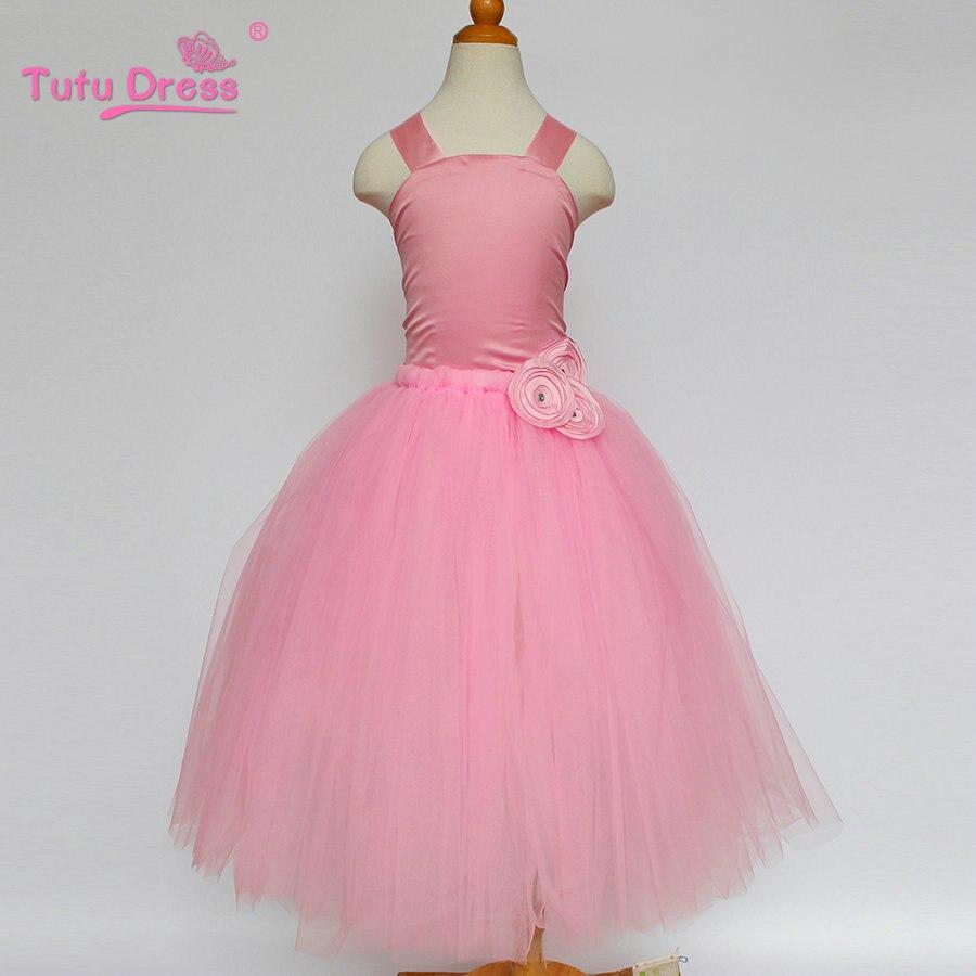 Baratos Princesa de La Boda Vestido de dama de Honor Niña de las ...