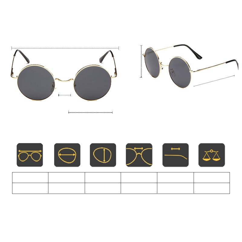 ≧VEGA Polarizada 80 s 90 s Retro Óculos Redondos Das Mulheres Dos ... aea13fd58a
