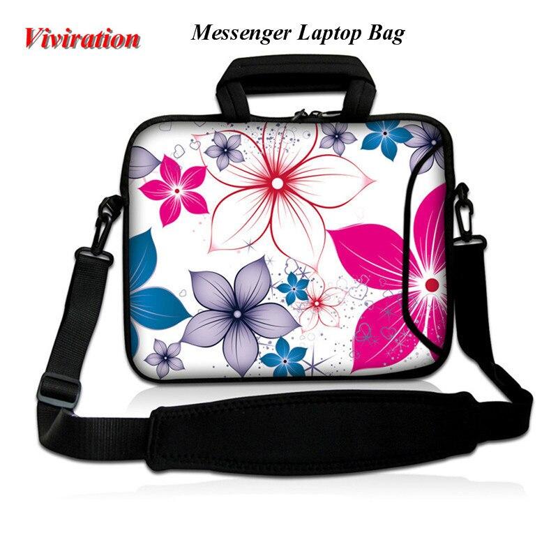 Viviration Soft Notebook Case 16.8 17 17.3 17.4 Inch Sleeve Messenger Shoulder Strap Bag 2018 Newest Women Briefcase Handbag