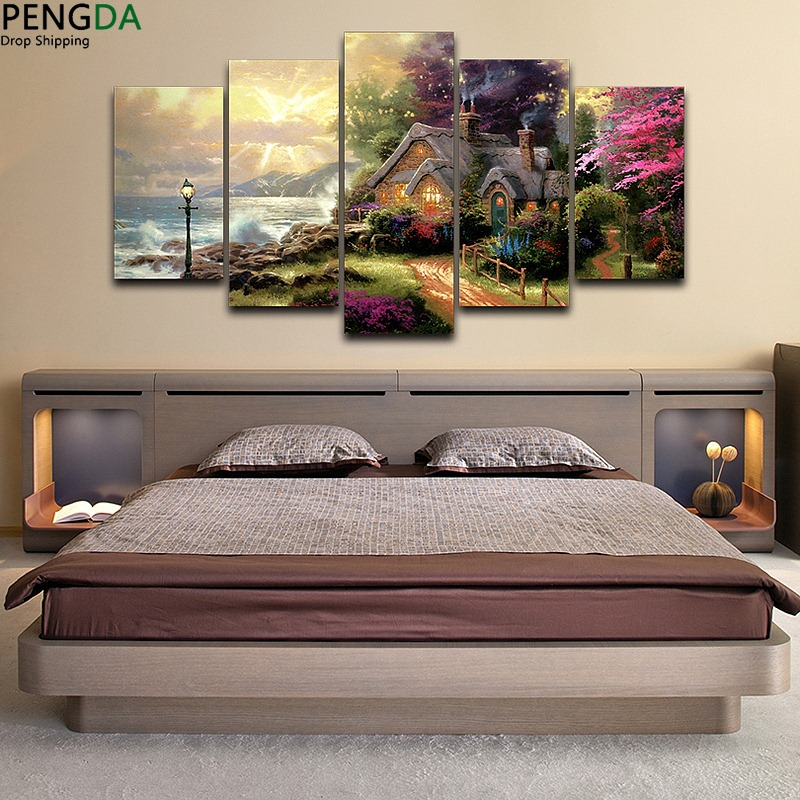 Artistic-Canvas-Print-Painting-Landscape-Pattern-HD-Printed-Classic-Oil-Painting-Drawing-room-wall-decor-bedroom (4)