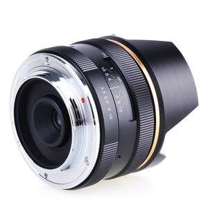 Image 5 - 14mm f/3.5 APS C ידני פוקוס ראש קבוע מצלמה עדשה עבור Sony E הר NEX3 3N 5 5T 5R מצלמה KAXINDA