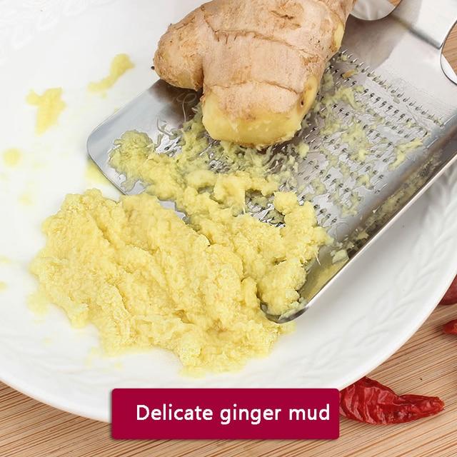 1 pièces gingembre ail Wasabi râpe concasseur ail presse dispositif hachoir Cutter Garlics éplucheur cuisine outils acier inoxydable