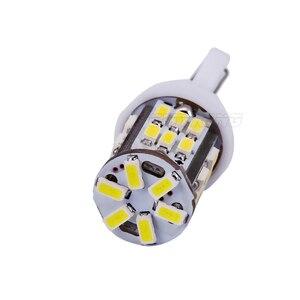 Image 4 - Free Shipping 100pcs T10 led 30smd 3014 SMD Car Bulb Car Auto LED T10 30led 194 W5W  Wedge Light Bulb Lamp t10 30SMD White light