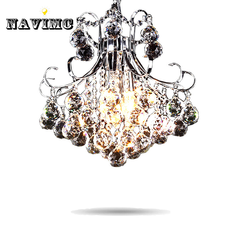 Modern Luxury 3 Light Crystal Chandelier Living Room Lamp Lustres De Cristal Indoor Lights Crystal Pendants For Sitting Room nordic living room crystal chandelier light luxury chandeliers light lustres de cristal for living dining room hotel decor