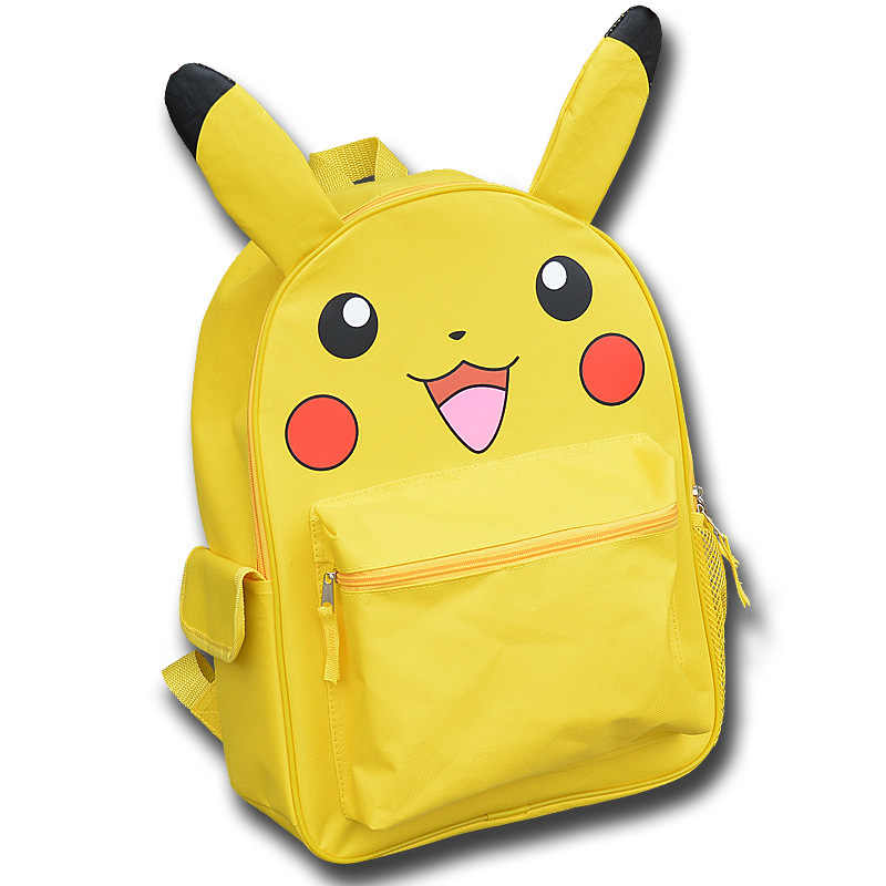 2c399892844e ... 2019 NEW Japanese Anime Pokemon monster Backpack Boys Girls School Bags  Cartoon Pikachu Prints Backpack Kids ...