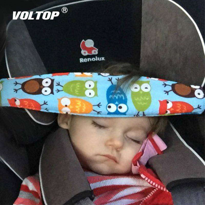 Child Car Safety Seat Head Fixing Auxiliary Cotton Belt Pram Secure Strap Doze Band for Baby Pram Child Safety Seat in Seat Belts Padding from Automobiles Motorcycles