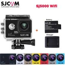 Original SJCAM SJ5000 WiFi Novatek96655 14MP 1080P 30M Waterproof Sports Action Camera Car Mini DVR+Extra Battery+Charger