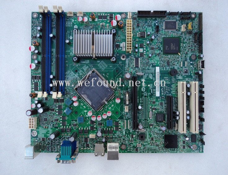 100% Working server Motherboard for S3200SH 775 CPU Fully Tested 865 motherboard disassemble 775 needle motherboard ddr1 fully integrated cpu small second hand