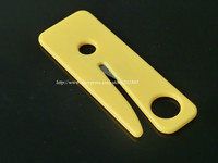 50 PCS SEATBELT CUTTER SEAT BELT CUTTER SAFETY KNIFE YELLOW