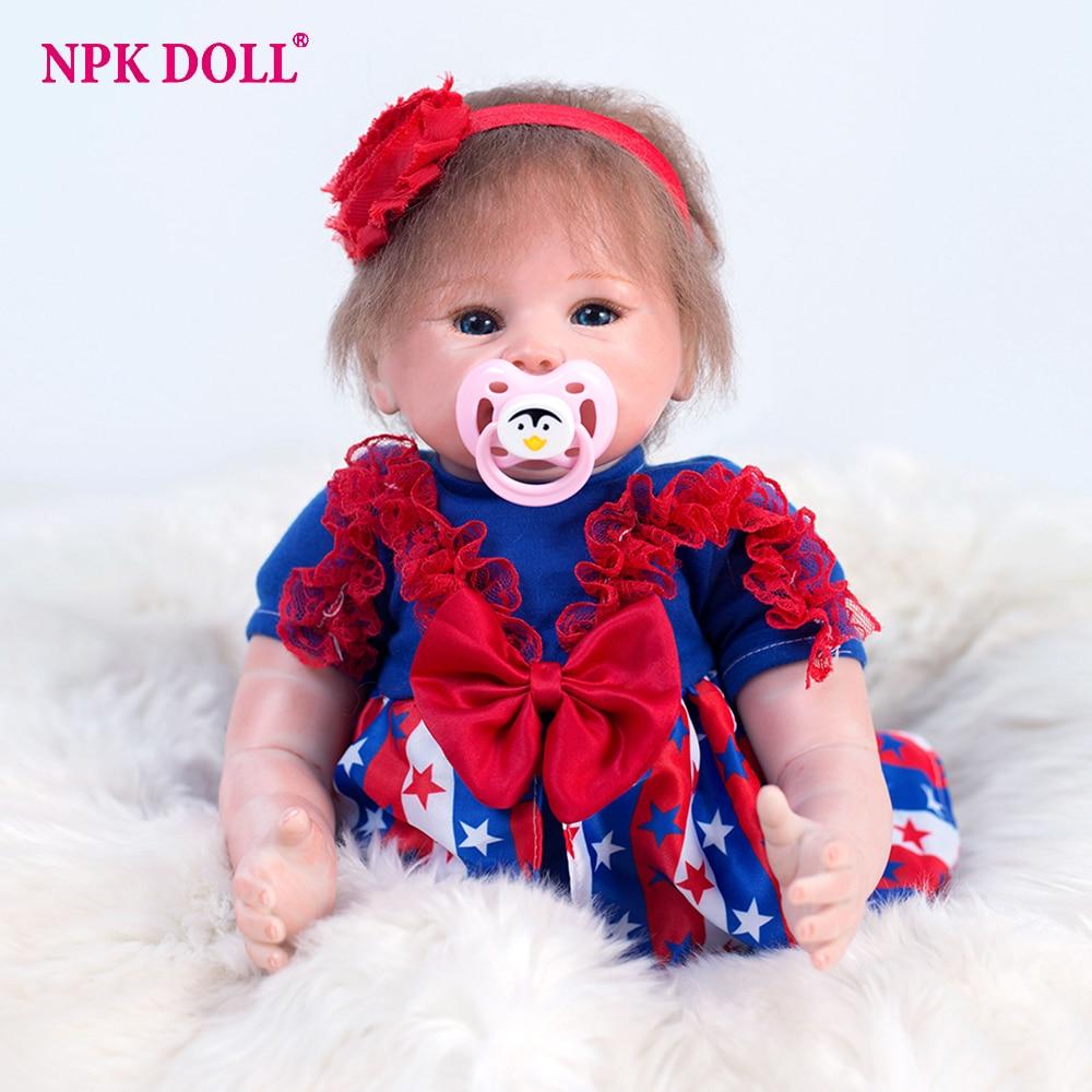 48 cm Bebe Reborn poupée Reborn réel bébé poupées corps doux réaliste princesse poupées poupée lol avec des vêtements jouets pour les filles