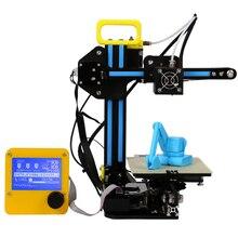 Creality CR-7 Portable Mini 3D Printer Kits Self-assembly DIY Printer 3D Printing Filaments 8GB SD Card LCD Free Shipping