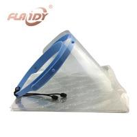 Dental Face Shield Glasses Frame Anti Fog Protective Mask 10 Plastic Protective Film