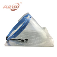 A0005 Dental Face Shield Glasses Frame Anti Fog Protective Mask 10 Plastic Protective Film
