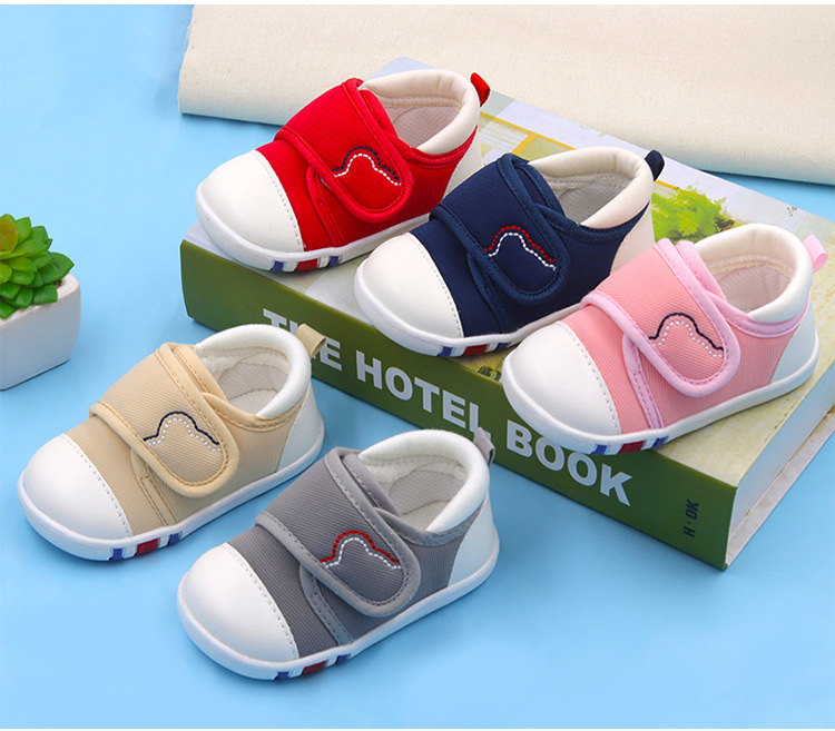 Spring Newest Baby First Walkers Shoes Breathable Autumn Canvas Boys Girls Infant Soft Sole Anti-slippery Warm Toddler Shoes (14)