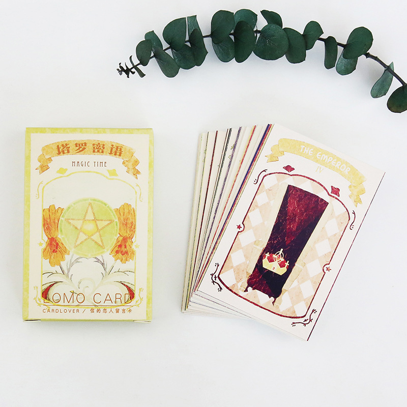 28 Sheets/Set Vintage Tarot Mini Postcard /Greeting Card/Message Card/ Kids Gift Postcard Kawaii Stationery
