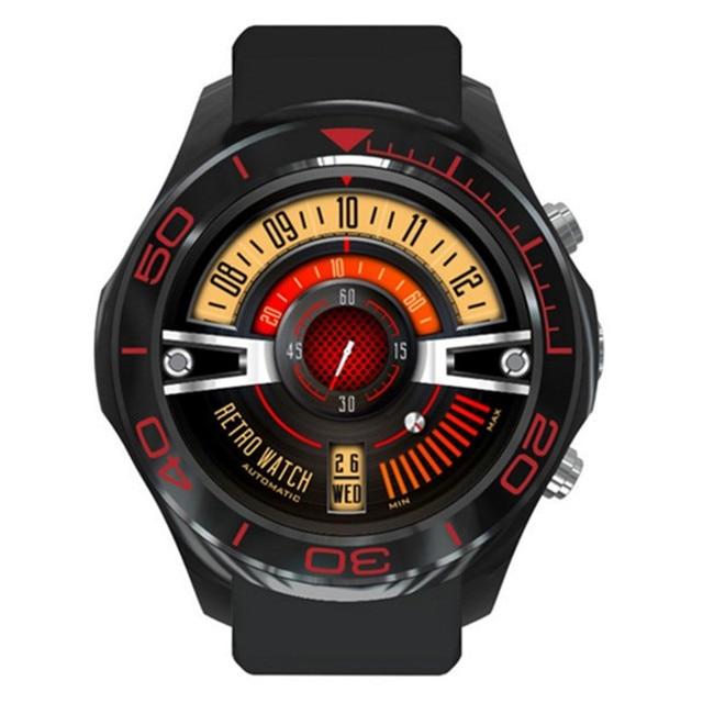 71678cb550af Wi-Fi умные часы ОС Android 5.1 SmartWatch телефон 3G SIM приложение  мониторинга сердечного ритма