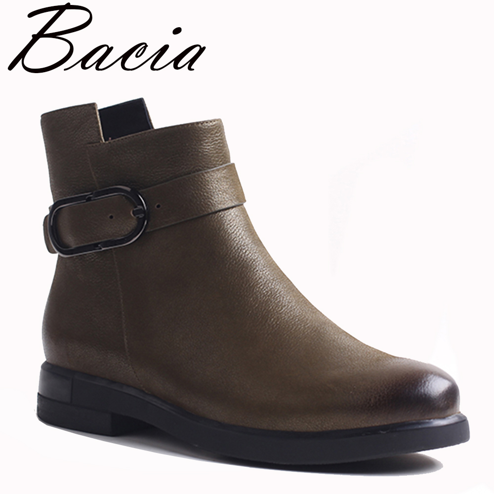 Bacia Autumn Boots Fleece Inside Leather Shoes For Women Round Toe Low Heels shoes Fashion Irrefular Top Zip Shoes Boots VXA030 ct200568 ct200571 toner chip for xerox aposport c5540 c6550 c7550 apeosport ii c5400 c6500 c7500 printer cartridge