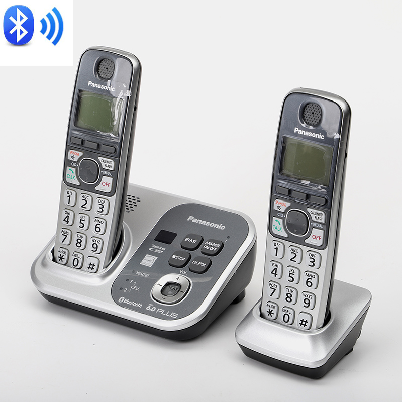 DECT 6.0 Digital Wireless Phone Link To Cell Phones Bluetooth Cordless Telehone With Answering SystemDECT 6.0 Digital Wireless Phone Link To Cell Phones Bluetooth Cordless Telehone With Answering System