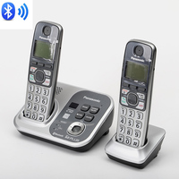 DECT 6.0 Digital Wireless Phone Link To Cell Phones Bluetooth Cordless Telehone With Answering System