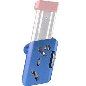 Image 4 - IPSC CNC B modelleri Kılıfı/ALTıN Airsoft Alüminyum 360 Derece Döndür Dergisi Kılıfı Glock