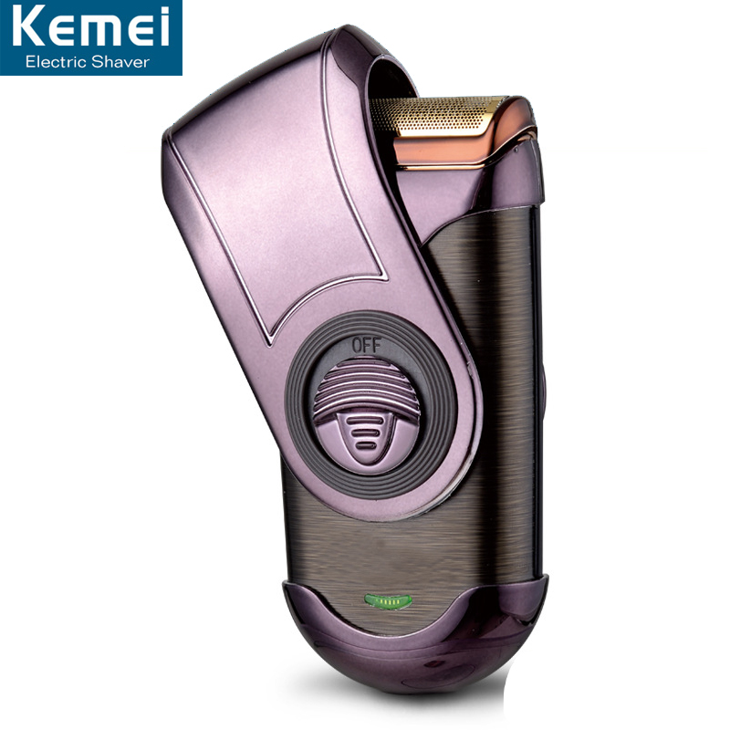 Kemei Q788 Electric Shaver Men Mini Portable Rechargeable Shaving Razor Face Care Floating Barbeador Beard Trimmer Razors Shaver philips brl130 satinshave advanced wet and dry electric shaver