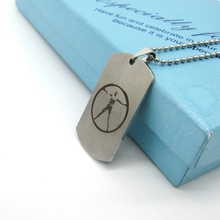 Westworld Robot Necklace | Dog Tag Pendant