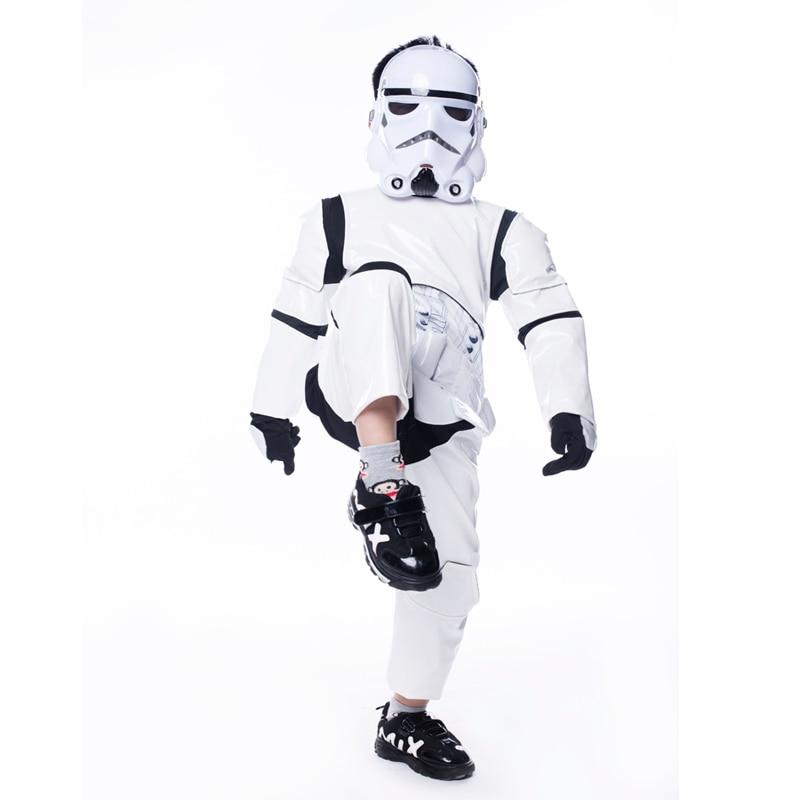 Naujas vaikas berniukas prabangus žvaigždė karai pajėgos - Karnavaliniai kostiumai - Nuotrauka 2