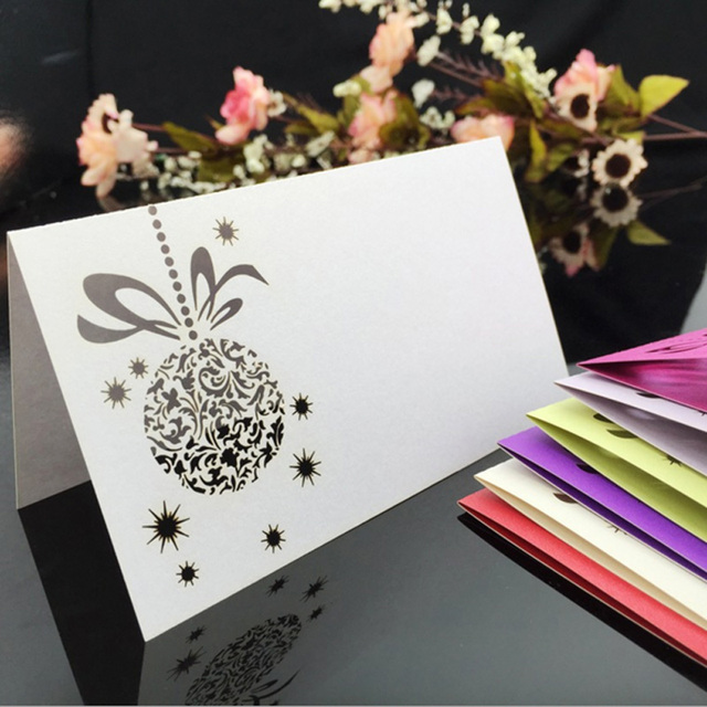 Cdp011 Lacer Cut Card Placer Customized Hollow Flower Wholesale