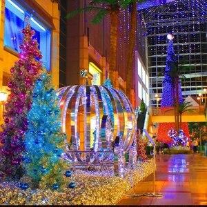 Image 4 - LED F5 50/100/200/500 Outdoor Solar Lampe LED Lichterketten Fee Urlaub Weihnachten Party Girlanden Solar Garten Wasserdicht Lichter