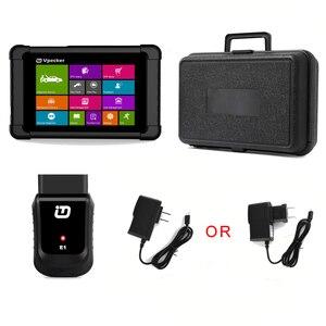 Image 5 - Автомобильный сканер Vpecker E1, оригинальный сканер с планшетом OBD2 через Wi Fi, полная система, автомобильный диагностический сканер, двигатель ABS SRS, Автомобильный сканер