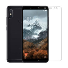 2PCS Tempered Glass Film on For Xiaomi Mi A1 A2 Lite 8 SE 5 5S 6 6X Glass Screen Protectors Film 9h Glass on Redmi Note 7 Pro(China)