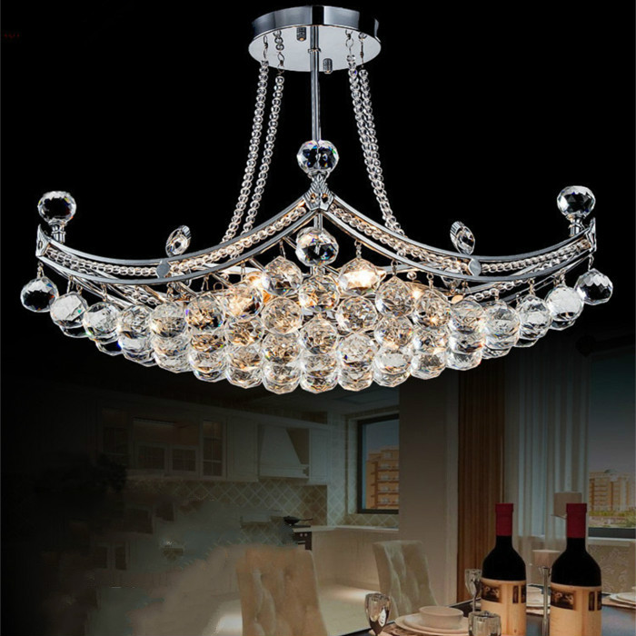 Подробнее о 2017 New Style Crystal Chandelier Lighting Fixture Crystal Light Lustres De Cristal For Living Room Ceiling Lamp 110v-220v led acrylic chandelier dia 72cm modern chandelier for living room crystal light fixture lustres 110v 220v