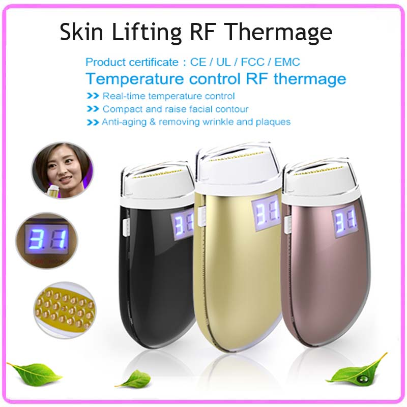 Mini Handpiece Bipolar RF Radio Frequency Skin Lifting Wrinkle Removal Magic Skin Care Beauty Devices Free Shipping portable mini handheld rf radio frequency skin lifting facial rejuvenation beauty massager for wrinkle free shipping