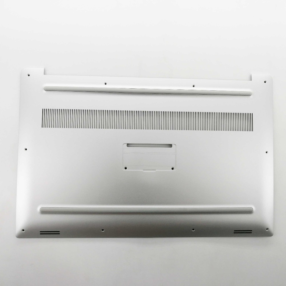 New for Dell XPS 15 9560 <font><b>9570</b></font> Precision M5520 Bottom Case Cover 0GHG50 GHG50 Silver image