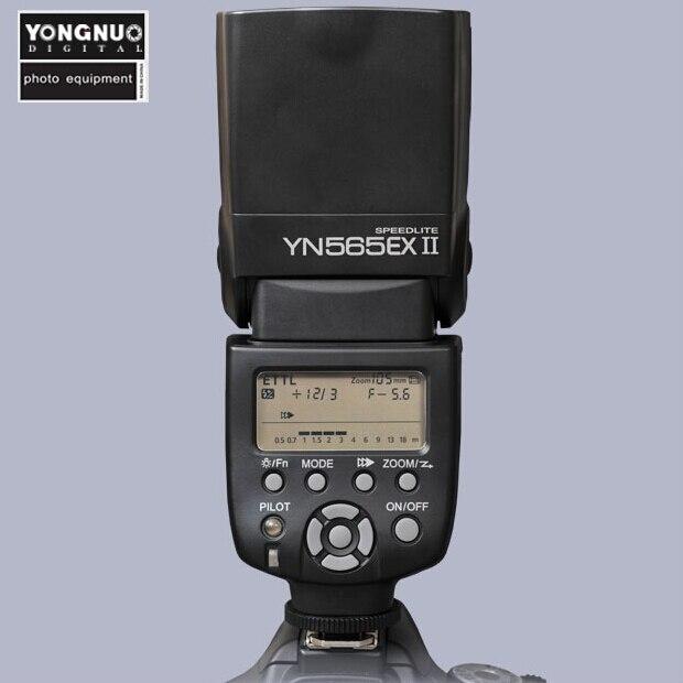Yongnuo YN565 YN 565 EX II TTL Flash Speedlite for Canon 1200D 760D 750D 650D 600D