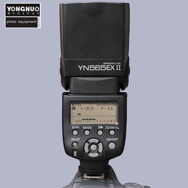 Yongnuo YN565 YN-565 EX II TTL Flash Speedlite for Canon 1200D 760D 750D 650D 600D 70D 60D 5D2 5D3 7D Camera DSLR 3pcs yongnuo yn600ex rt auto ttl hss flash speedlite yn e3 rt controller for canon 5d3 5d2 7d mark ii 6d 70d 60d