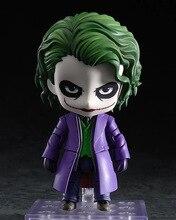 Nendoroid 566 Joker in Movie Batman Action Figure 10CM Model Toys Movie The Dark Knight Rises