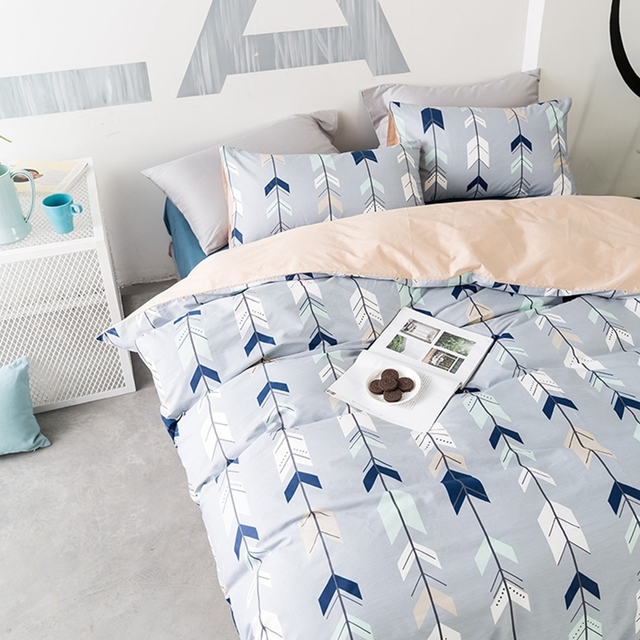 Brief Arrow Duvet Cover Set Twin Queen King Size Bedding Sets 100% Cotton  Duvet Cover