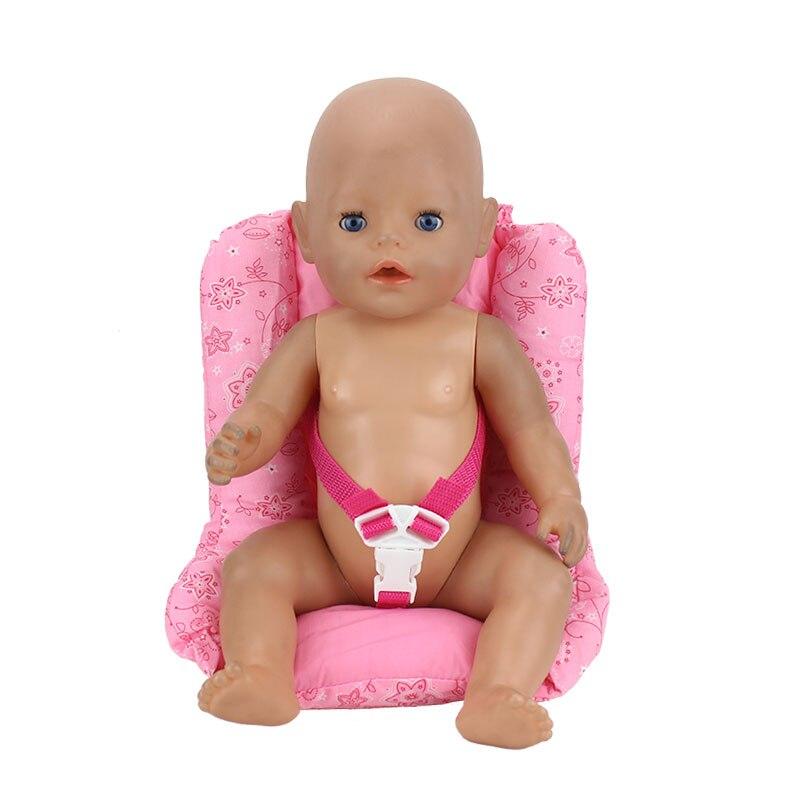 где купить New Cotton Seat For 43cm Zapf Dolls Baby Reborn Dolls Accessories дешево
