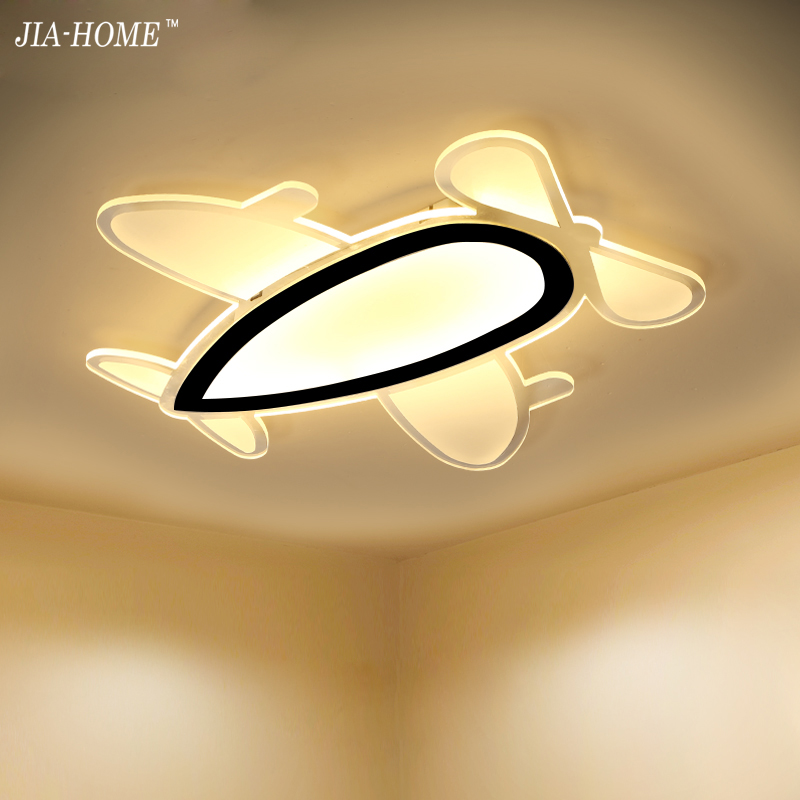 Led Ceiling Lights remote control or switch airplane shape Acrylic Ceiling Lamp for living room bedroom De Techo Plafond Abajur hot free shipping modern led ceiling lights for living room bedroom abajur dimmable remote control lamparas de techo