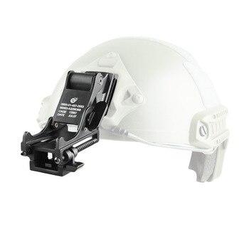 Cascos deportivos tácticos soporte de montaje para Rhino NVG PVS-14/PVS-7 visión nocturna rápido MICH M88 cascos Monocular accesorios DIY