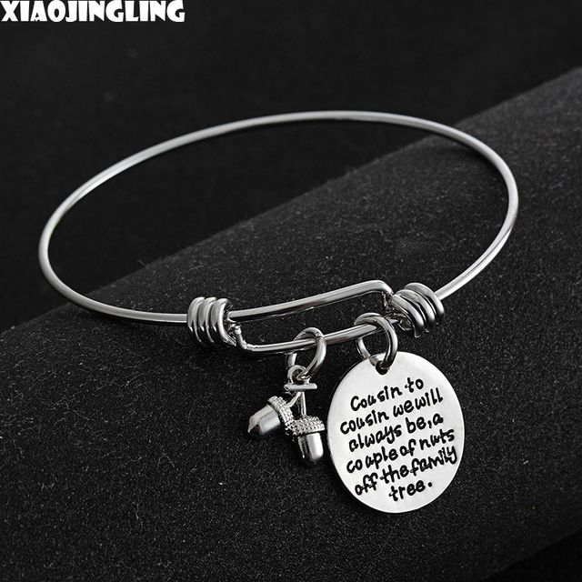 Xiaojingling Fashion 2017 Arrival Cousin Bracelets To We Will Always Be A