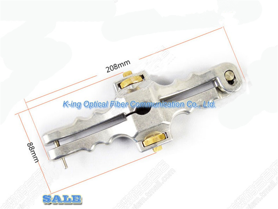 Armored Cable Slitter Longitudinal Optic Fiber Sheath Stripper Free Shipping