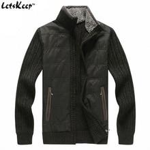 LetsKeep 2016 fleece mens cardigan zipper casual patchwork men's turtleneck sweaters with pocket men cardigan coat outwear,MA262