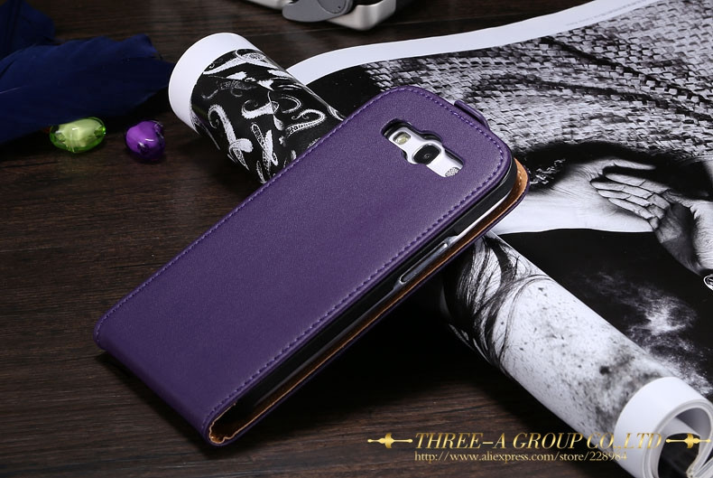 Kisscase dla samsung galaxy s3 s4 biznes skórzana phone case do samsung galaxy s3 i9300 s4 magnetyczny pionie klapka torby 17