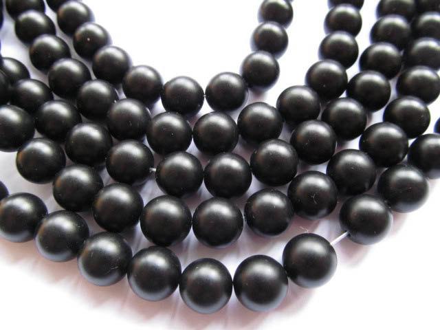 batch gergous natural agate bead round ball black jet matt crab jewelry beads 6-16mm --10strands 16inch цена
