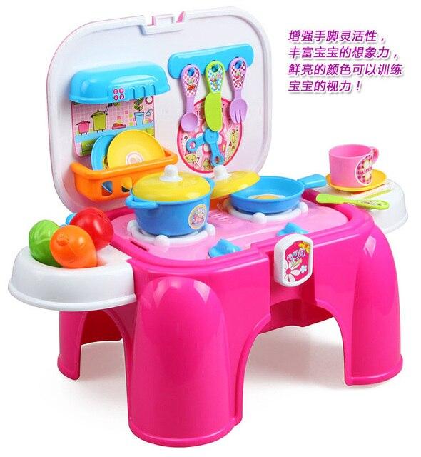 Pretend Play Toys Kitchen Set Toys Education Toy Children Kids
