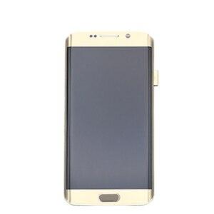 Image 5 - شاشة LCD تعمل باللمس لسامسونج غالاكسي S6 حافة G925 G925I G925F محول الأرقام مع الجمعية الإطار استبدال 100% اختبارها