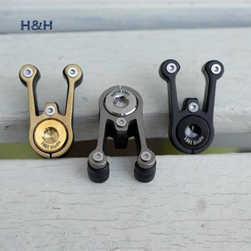 Raccords de tuyauterie de fourche avant de vélo pliant 3 couleurs titane + acier au carbone pour fourche avant de vélo brompton